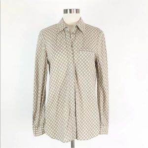 Lafayette 148 | Gingham Plaid Button Shirt